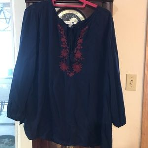 Old Navy XL peasant blouse